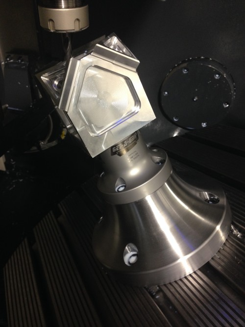 5-Axis workholding Get-A-Grip shown in DMG MORI DMU 50