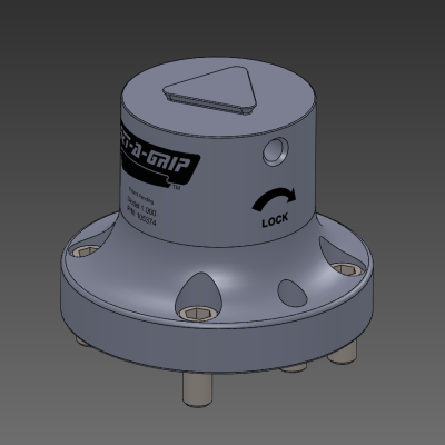 Get-A-Grip 5-Axis Workholding Fixture Outline